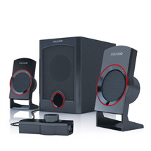 Microlab M-111 Speakers with woofer (2.1)