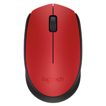 Logitech M171 Wireless Mouse - Red