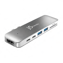 J5 Create UltraDrive for MacBook Pro USB Type-C Mini Dock