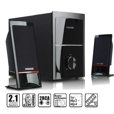 Microlab M-700 Speakers with woofer (2.1)