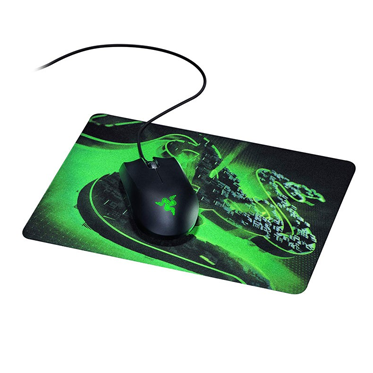 Razer Abyssus Lite & Razer Goliathus Mobile Construct Edition - Mouse and Mouse Mat Bundle